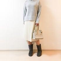 【UNIQLO】年中活躍 ♡ 高見えプリーツスカートの記事に添付されている画像