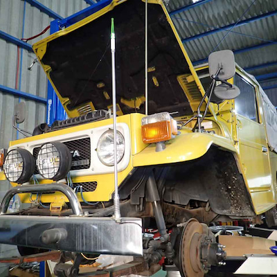 車検整備-ランドクルーザー40(BJ44) 昭和のランクルはまだ部品が入ります!の記事に添付されている画像