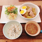 【糀レシピ】ほっこりハヤトウリと鶏肉のしょうゆ糀煮の記事より
