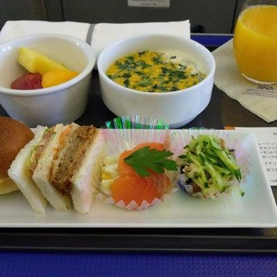 ☆羽田⇔那覇ANAプレミアムクラスで機内食をいただきました☆の記事に添付されている画像