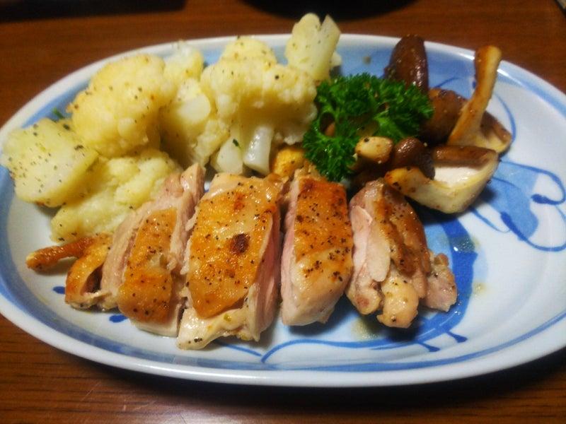 鶏 もも肉 柚子 胡椒