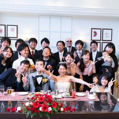 中学の同級生の結婚(花遊庭12/8)の記事に添付されている画像