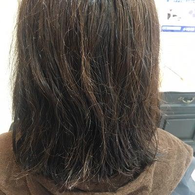 うねりを解消して艶髪♪の記事に添付されている画像