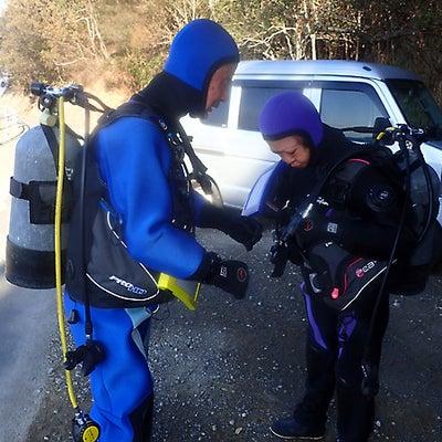 インストラクターに頼らず潜るバディダイビング練習!和歌山県白浜町よりの記事に添付されている画像