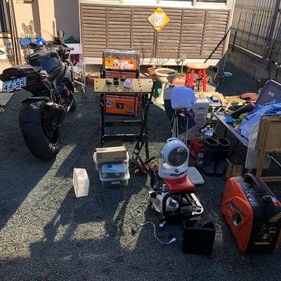 ガレージや工具の掃除 / ピストンカーボンチェックの記事に添付されている画像