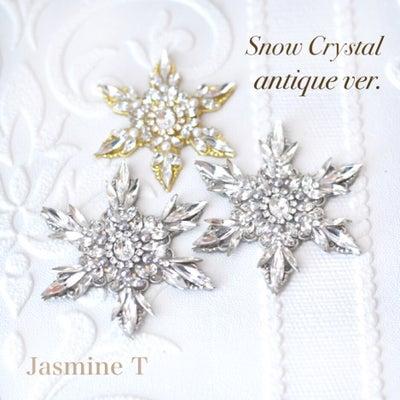 Snow Crystal antique ver. 年内最後のレッスンのお知らせの記事に添付されている画像