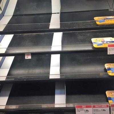 スーパーから突然姿を消したモノの記事に添付されている画像