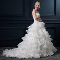 ボリューム満点ウェディングドレス♡の記事に添付されている画像