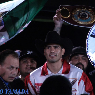 【Photo】 ラミレスvsハート 再戦 「WBO世界スーパーミドル級戦」の記事に添付されている画像