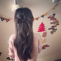 ヘアアレンジ♡リボンヘア*2の記事に添付されている画像