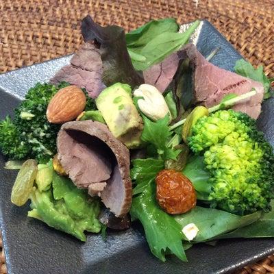 ローストビーフのサラダ~補血、補腎~の記事に添付されている画像