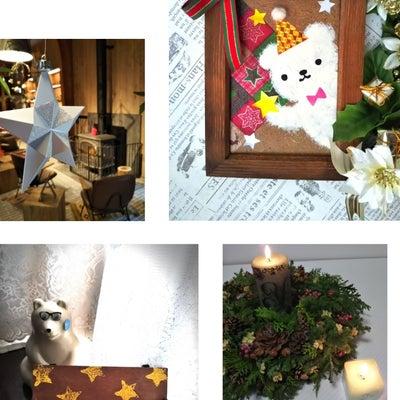 2日連続のクリスマスのワークショップの記事に添付されている画像