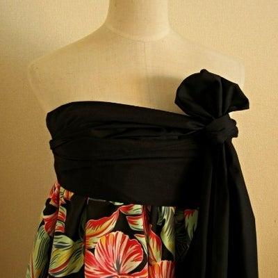 新作☆EB-032 古き良き雰囲気の柄+鮮やかな色=ドキドキの色柄、のドレスの記事に添付されている画像