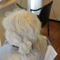 白髪が綺麗になるプログレスパーマ(^o^)(^o^)の記事に添付されている画像
