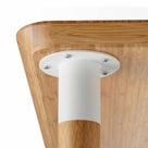 脇役だけど家具のイメージを劇的に変えるパーツ 脚のつけかたの記事より