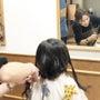 娘のヘアドネーション…