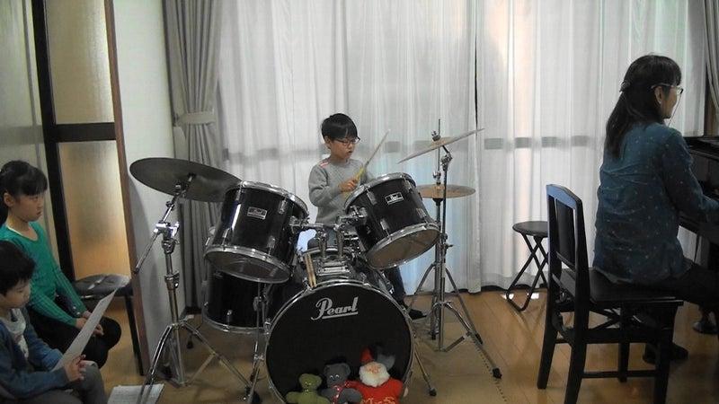 小学生ドラム発表
