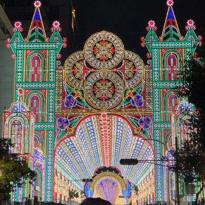 ルルレモン LUCUA大阪!と、雨のルミナリエ!の記事に添付されている画像