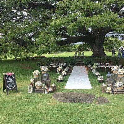 【ハワイ挙式】式をあげる場所を決めるの記事に添付されている画像