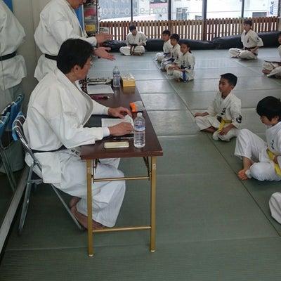 兵庫県本部少年部審査会(中・上級、昇段編)の記事に添付されている画像