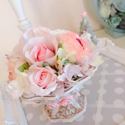 マリーアントワネットをイメージしたお花♡の記事に添付されている画像