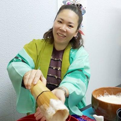 ルーツは沖縄。キラキラママでした@琉球茶道ぶくぶく茶館の記事に添付されている画像