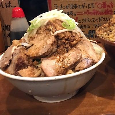 【ラーメン大盛】ラーメン500g豚増し 全増し @歴史を刻め 新栄店 名古屋市の記事に添付されている画像