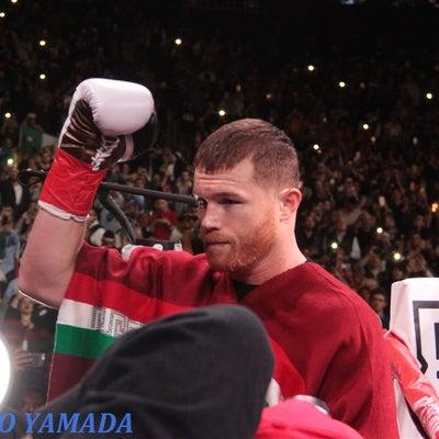 【Photo】 カネロ・アルバレスvsフィールディング  WBA世界スーパーミドの記事に添付されている画像