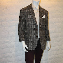 紳士の装い・英国ツィード生地モテジャケ・ブラウンの記事に添付されている画像