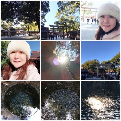 【明治神宮】雲ひとつなく、美しい日に、女神の時空をくぐって来ました。冬至に向かっの記事に添付されている画像