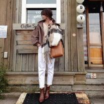 《UNIQLO》冬こそホワイトデニム♡の記事に添付されている画像