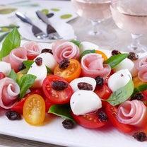 レーズンとモッツアレラチーズのカプレーゼ風サラダの記事に添付されている画像