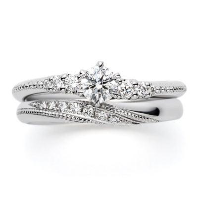 永久無料保証の付いた婚約指輪&結婚指輪 安心のアフターメンテナンス シンプル可愛の記事に添付されている画像