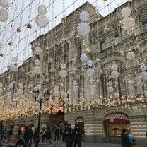 モスクワのクリスマスマーケットの記事に添付されている画像