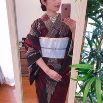 いただきものの着物を「ザ、昭和」コーデにしないためには。の記事に添付されている画像