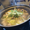 クエ鍋と太刀魚