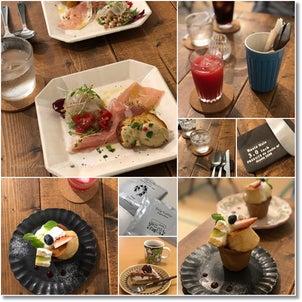 大好きなカフェの活動15周年記念のスペシャルランチと究極のプリンアラモード♡の画像