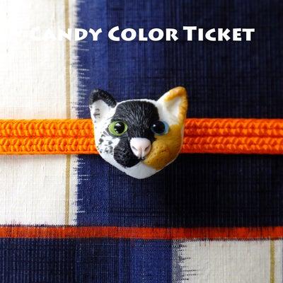 猫の帯留めヤフオク出品とかの記事に添付されている画像