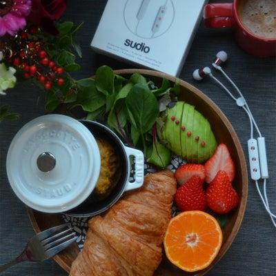 ストウブで「ワンプレート朝ごはん」☆sudioのイヤホン☆クリスマスキャンペーンの記事に添付されている画像