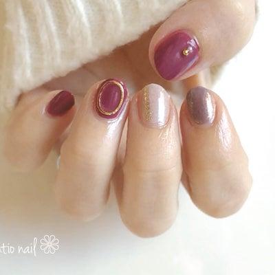 ジーニッシュマニキュア 冬の新色でBE LADYネイルの記事に添付されている画像