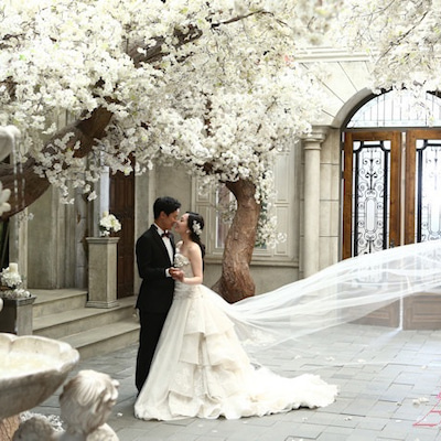 お客様の素敵な原本写真☆韓国ウェディングフォト・韓国前撮りならアジェリーナの記事に添付されている画像