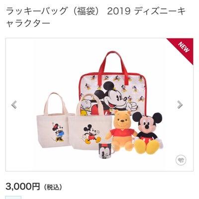 ディズニーストア2019 ラッキーバック!!(福袋) 買うか否か!!の記事に添付されている画像