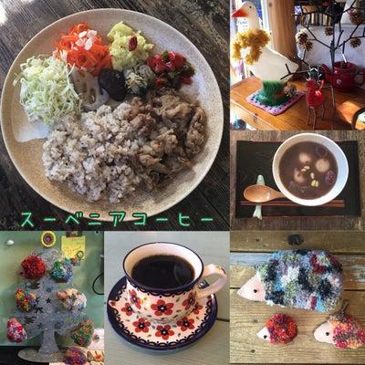生姜焼きと、なつめ白玉ぜんざい*スーベニアコーヒー*の記事に添付されている画像