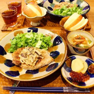 アワアワアワアワ・・・(泣)じゃなくて、キノコの味噌ソース!の記事に添付されている画像