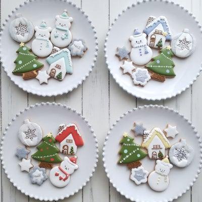 カラフルなクリスマスクッキー♪の記事に添付されている画像