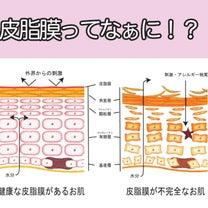 肌の乾燥を防ぐ『皮脂膜』の重要性!の記事に添付されている画像