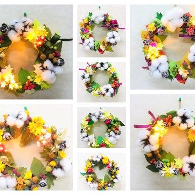 生徒さま作品:クリスマス&ウィンターリースの記事に添付されている画像