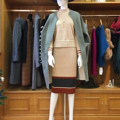 Pleats Knit Setup / Doubleface Coatの記事に添付されている画像