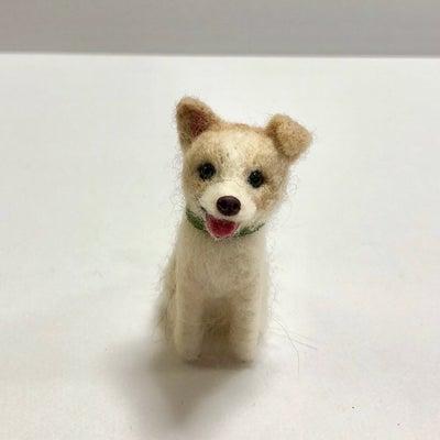 羊毛フェルトオーダー作品 ミックス犬の記事に添付されている画像