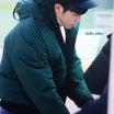 帽子とジャケットをチェンジしたユノ!@チェジュ空港